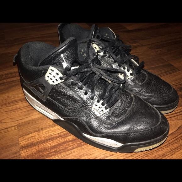 739b339613d832 Jordan Other - Nike AIR JORDAN 4 RETRO LS OREO 314254-003 Size 11